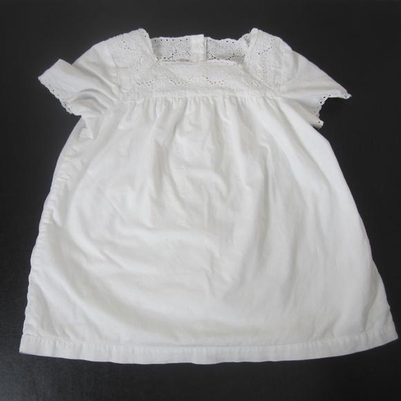 Baby Gap White Prairie Lace Dress Toddler Girl 5t